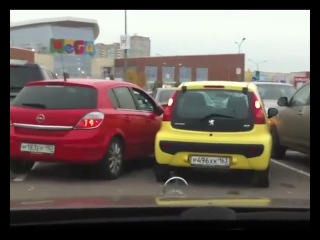 Дуры на парковке)